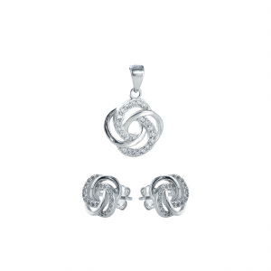 Set argint zirconiu