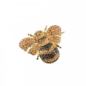 Brosa aur 14k bee