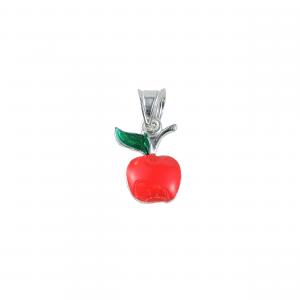 Pandant argint apple