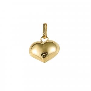 Pandant aur 14K heart