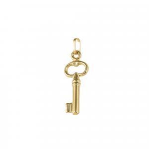 Pandant aur 14K key