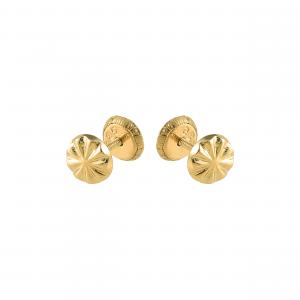 Cercei aur 14K copii fleur