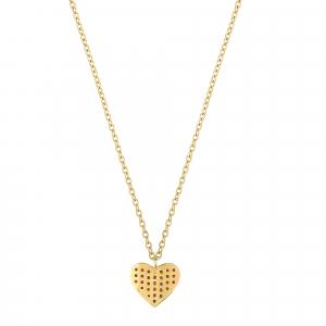 Lant aur 14K heart