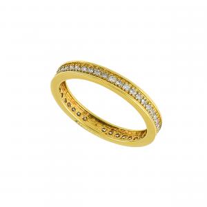 Inel aur 18K cu diamante 0.29 G VS