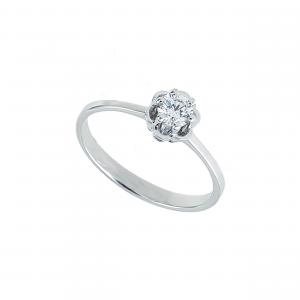 Inel aur 18K cu diamante 0.31 H VS