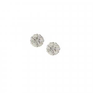 Cercei aur 18K cu diamante 0.37 F-G SI