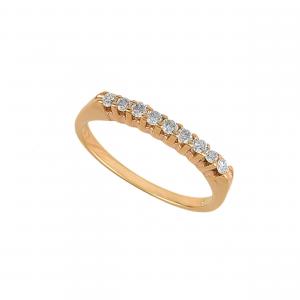 Inel aur 18K cu diamante 0.21 H VS