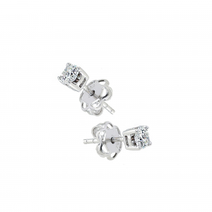 Cercei aur 18K cu diamante 0.51 F-G SI