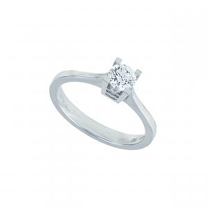 Inel aur 18K cu diamante 0.51 G SI