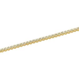 Bratara aur 14k zirconiu elegant tennis