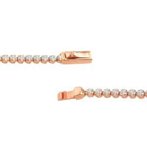 Bratara aur 14k roz zirconiu elegant tennis