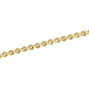 Bratara aur 18K cu diamante 0.5 H SI