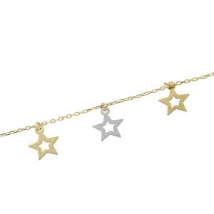 Bratara aur 14k stele