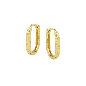Cercei aur 14K clasici