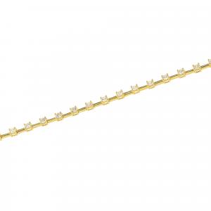 Bratara aur 14K  zirconiu elegant