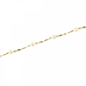 Bratara aur 14K perla elegant
