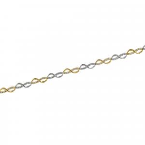 Bratara aur zirconiu infinit