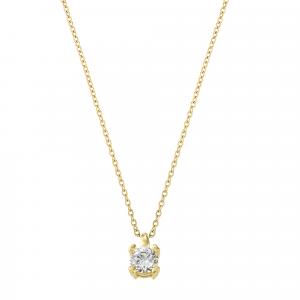 Lant aur 14k  zirconiu elegant