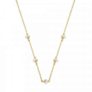 Lant aur 14K perle elegant
