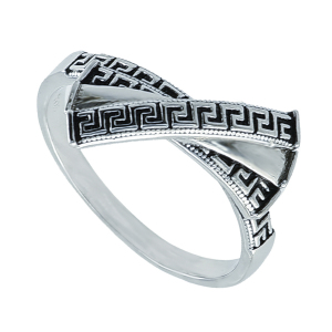 Inel argint clasic