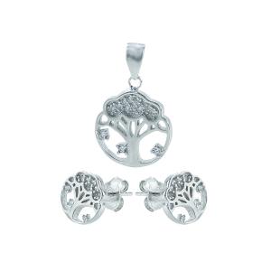 Set argint zirconiu copacul vietii