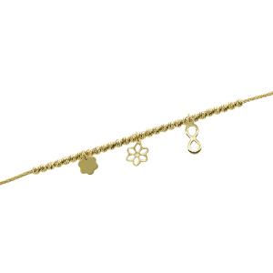 Bratara aur 14K Kocak accesorii mixte