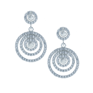 Cercei argint zirconiu elegant Penelope