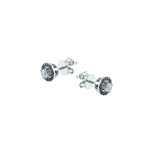Cercei aur 18K cu diamante 0.19 G SI BD 0.1