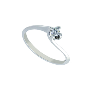 Inel aur 18K cu diamant 0.09 G SI