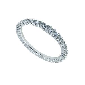 Inel aur 18K cu diamante 0.34 G SI