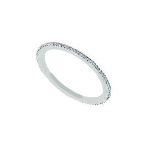 Inel aur 18K cu diamante 0.1 F-G SI
