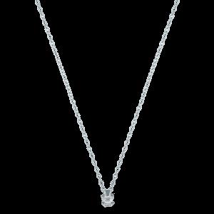 Lant aur 18K cu diamant 0.1 G SI
