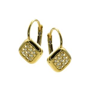 Cercei aur 14K elegant