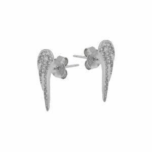 Cercei argint pietre zirconiu - 638215