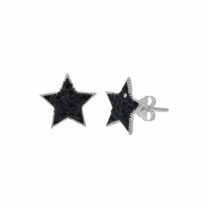Cercei argint stea - 635955