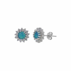 Cercei argint elegant - 638000