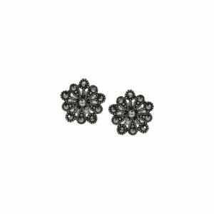 Cercei argint marcasite  - 647644