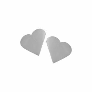 Cercei argint inima - 648542