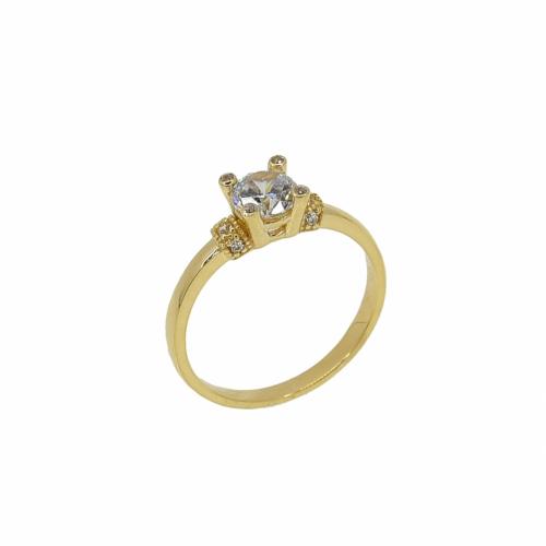 Inel de logodna aur 14k zirconiu - 2904834023106