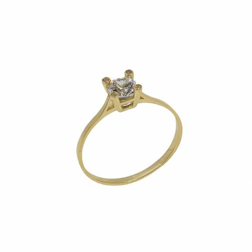 Inel de logodna aur 14k zirconiu - 2904834011806