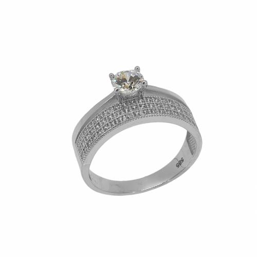 Inel de logodna aur 14k zirconiu - 2904831039704