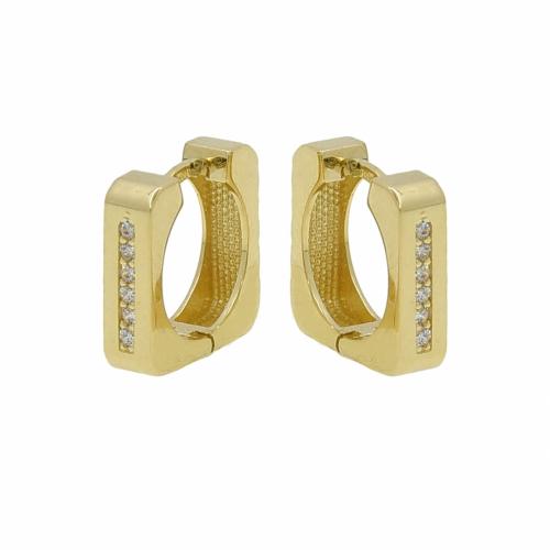 Cercei aur 14K geometrici - 2904827036304
