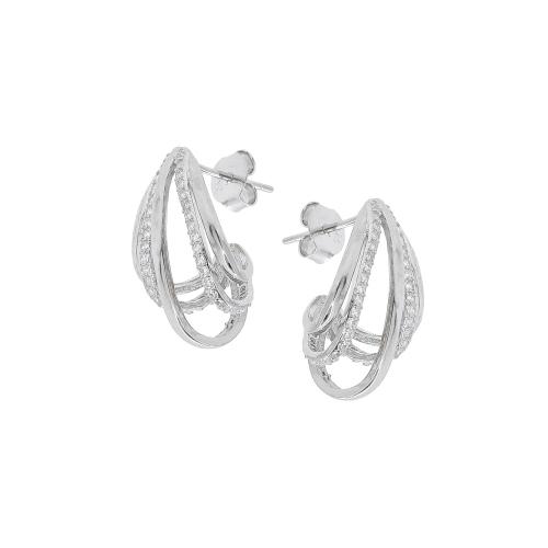 Cercei argint zirconiu mille - 5000000656318