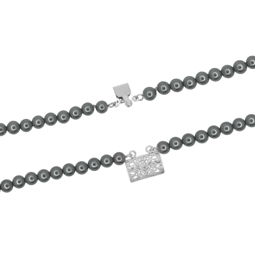 Set elegant perle naturale din scoica  - 4000000007623