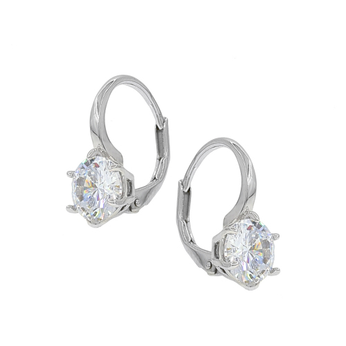 Cercei argint zirconiu classic - 5000000656516