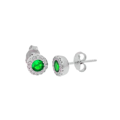 Cercei argint zirconiu hera - 5000000656394 Zirconiu Verde