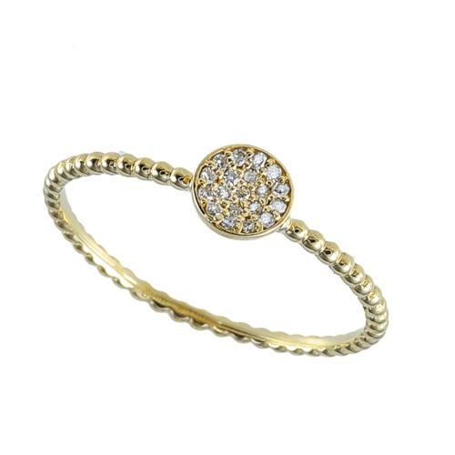 Inel aur 18K cu diamante 0.06 G SI - 6020000006561
