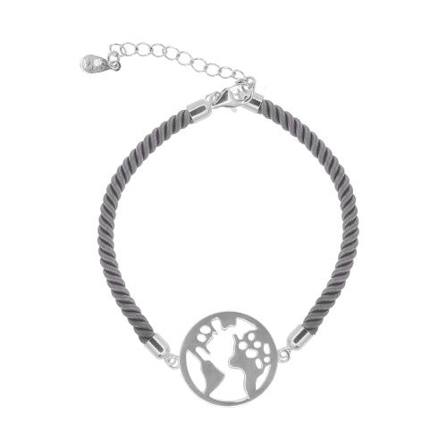 Bratara argint world - 5000000658213 Argint Gri