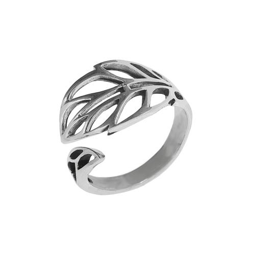 Inel argint vintage leaf - 5000000673780