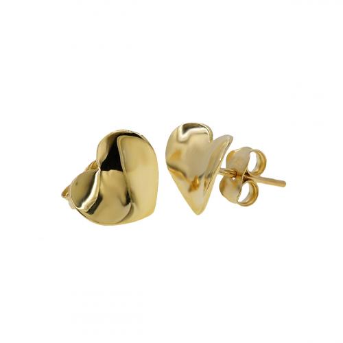 Cercei aur 14K hearts - 2920360013909
